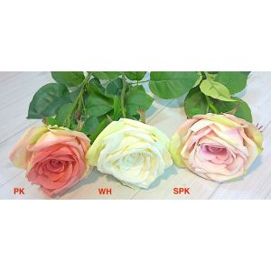 Real Touch, Large Cupped Cabbage Rose 2636